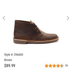 Size 10 Men's Clark's